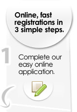 Register a company now